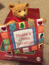 Carlton Cards. 1998. Friend. Heirloom Ornament Collection.