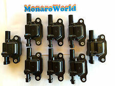 LS2 COIL PACK FULL SET OF 8 VZ VE 6 LITRE L76 L98 LS3 V8 GTO IGNITION COMMODORE