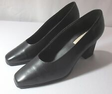 Bellini Black Leather pumps Sz 10 Shoes