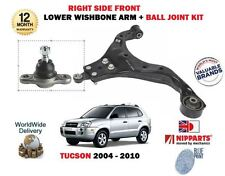 FOR HYUNDAI TUCSON 2004-2010 NEW RIGHT FRONT LOWER WISHBONE ARM + BALL JOINT KIT