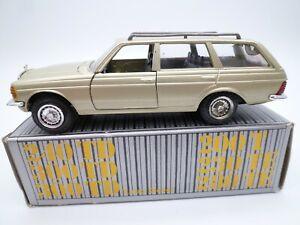 VINTAGE CONRAD MERCEDES BENZ 240 300 TD 230 280 TE W123 DEALER PROMO BOXED 1980s