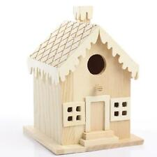 Darice 9190-117 Wood Gingerbread House, New, Free Shipping
