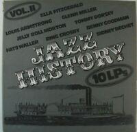 Jazz History Vol.II 10 LP ncb LP7a