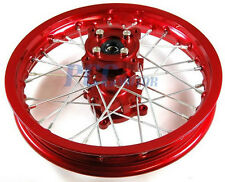 "12"" REAR RIM WHEEL 15MM AXLE SIZE CNC HUB DISC BRAKE COOLSTER TAOTAO PIT BIKE M"
