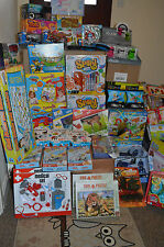 JOB LOT 30 MIXED WHOLESALE BOX OF TOYS - RC CAR SCIENCE KIT PUZZLES - NEW
