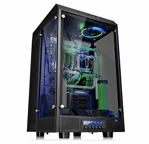 Thermaltake the Tower 900 Full-Tower Black Computer Case Computer Cases Ful
