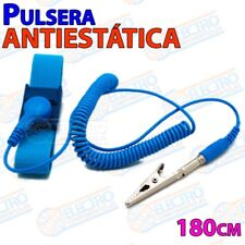 Pulsera Antiestatica ajustable con pinza cocodrilo 1M Correa - Arduino Electroni