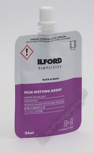 Ilford Wetting Agent 25ml Simplicity Single Pack FREE Postage
