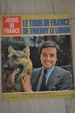 JOURS DE FRANCE N°1185 1977 // THIERRY LE LURON CAROLINE DE MONACO ELVIS PRESLEY