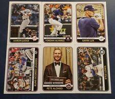 2020 Topps Big League Baseball Base Cards 151-300 You Pick Yordan Bichette Lux