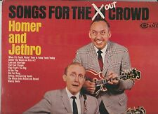 Homer & Jethro - LOT OF 3 -SONGS FOR THE (IN) OUT CROWD/THE HUMOROUS/C COMEDY