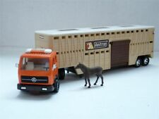 Matchbox K8 1/50 Mercedes-Benz Horse Semi Trailer Truck Diecast Model Car