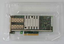 NEW DELL INTEL X520-T2 10GB SFP+ DUAL PORT PCIE NETWORK CARD XNPKX HALF HEIGHT