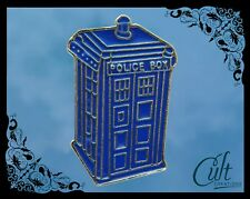Doctor Who metal and enamel Pin Badge with the Tardis pins Free UK post.