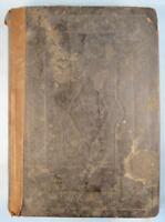 The Holy Bible 1839 Large Antique Book New York D Fanshaw American Society (O)