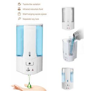 Soap Dispenser 450ML Wall Mounted Liquid Bathroom Hand Shower Gel Shampoo