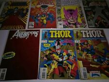 Avengers Comic Book Lot of 7 Issues Marvel Comics Beta Ray Bill Thor Hawkeye