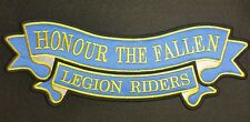 Embroidery patch Double Ribbon, Honour the Fallen /Legion Riders (67)