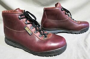 MENS VASQUE OXBLOOD LEATHER HIKING MOUNTAINEERING HIKING WORK BOOTS US 9.5 R