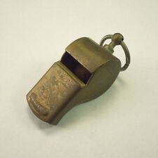 Vintage Brass Sports Outdoor Military Multi Use Whistle