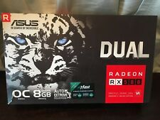 ASUS Radeon RX 580 8GB Dual-fan OC Edition GDDR5 DP HDMI DVI VR Ready AMD