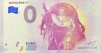 BILLET 0  EURO NAPOLEON PREMIER  PARIS FRANCE 2018 NUMERO DIVERS
