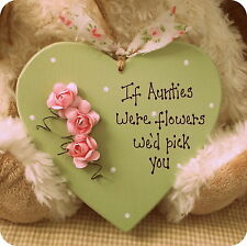 Flowers Shabby Chic Decorative Plaques & Signs