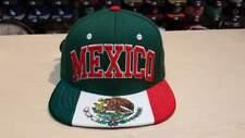 Zephyr MEXICO Mexican Aguila Flag Custom Snapback Cap Hat Adjustable