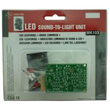 Velleman sonido a la luz Unidad Electrónica Kit Mk103