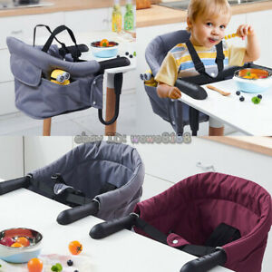 High Quality Portable Baby Highchair Foldable Feeding Chair Seat Booster Safety