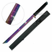 Full Tang Rainbow Ninja Warrior Sword with Sheath