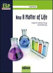 New A Matter of Life, Edisco scuola, Paola Briano, codice:9788844119553