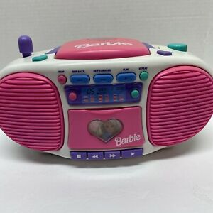 Barbie Dance With Me Talking Boombox 2 CDs 1999 Mattel BE-160 - WORKS
