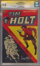 TIM HOLT 21 CGC 9.0 SS FRANK FRAZETTA ONLY 1 IN  WORLD HIGHEST ON CENSUS 1951