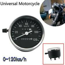 Motorcycle Scooter Analog Daul Odometer Speedometer Gauge 0-120km/h for GN CN125
