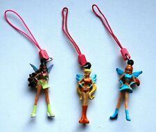 WINX CLUB- MINI POUPÉE- bijoux de portable - Stella- Layla- Bloom - RARE