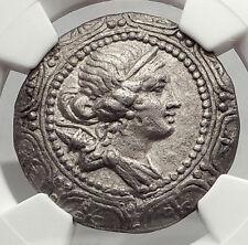 AMPHIPOLIS Roman Macedonia 167BC LARGE Silver Greek Tetradrachm Coin NGC i62452
