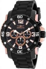 Invicta 18167 48mm Pro Diver Chronograph Date Polyurethane Strap Mens Watch