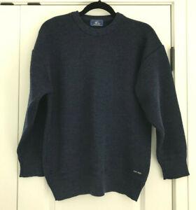 EUC Navy SAINT JAMES 100% Wool Knit Sweater Size M
