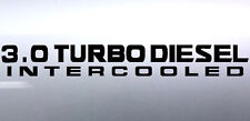 3.0 Turbo diesel Intercooled 500 x 65 mm patrol gu 4x4 Sticker Australian made