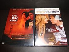JUST ONE NIGHT & SERIOUS MOONLIGHT-2 movies-TIMOTHY HUTTON,MEG RYAN,KRISTEN BELL