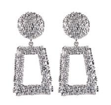 Women Gold Geometric Dangle Drop Ear Stud Earrings Party Jewelry Xmas Gift