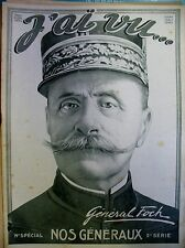 Ww1 special General joffre foch de langle by maud 'huy Gouraud... I saw 1915
