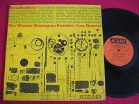 JAZZ LP - WERNER-ROSENGREN SWEDISH JAZZ QUARTET - BOMBASTICA! - JAZZZLAND JLP 26