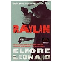 Raylan: A Novel paperback book by Elmore Leonard FREE SHIPPING the