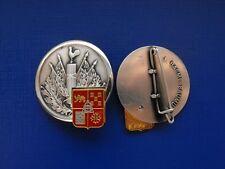 N°3 insigne militaire pucelle armée promotion infanterie génie parachutistes etc