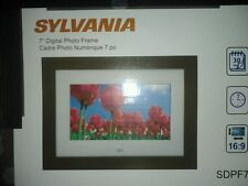 "Sylvania 7"" DIgital Photo Frame Model SDPF787"