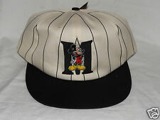 NEW WITH TAGS MICKEY MOUSE UNLIITED BLACK  PIN STRIPE  CAP VTHF