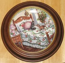 "Collectable Cat Plate Knowles ""A Sunny Spot"""