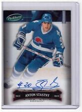 ANTON STASTNY 06/07 Parkhurst Auto Autograph #120 Quebec Nordiques Hard-Signed